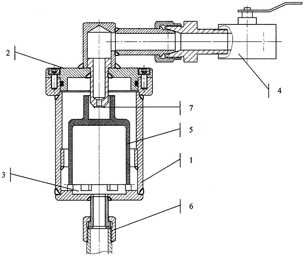 Устройство для автоматического стравливания газов на насосах перекачки