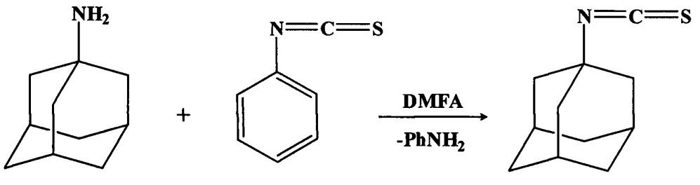 Новый способ получения 1-адамантилизотиоцианата