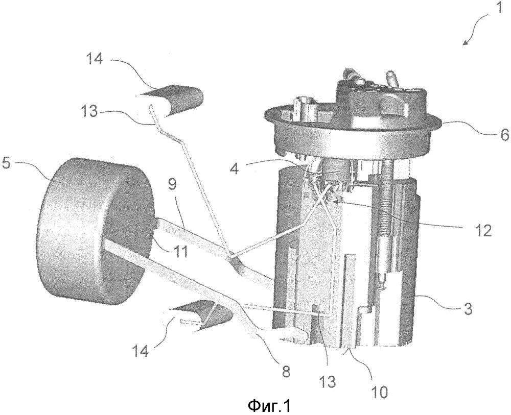 Модуль подачи топлива