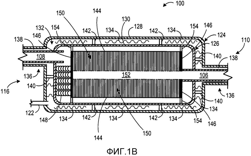 Способ регенерации тепла для двигателя и система регенерации тепла для двигателя (варианты)