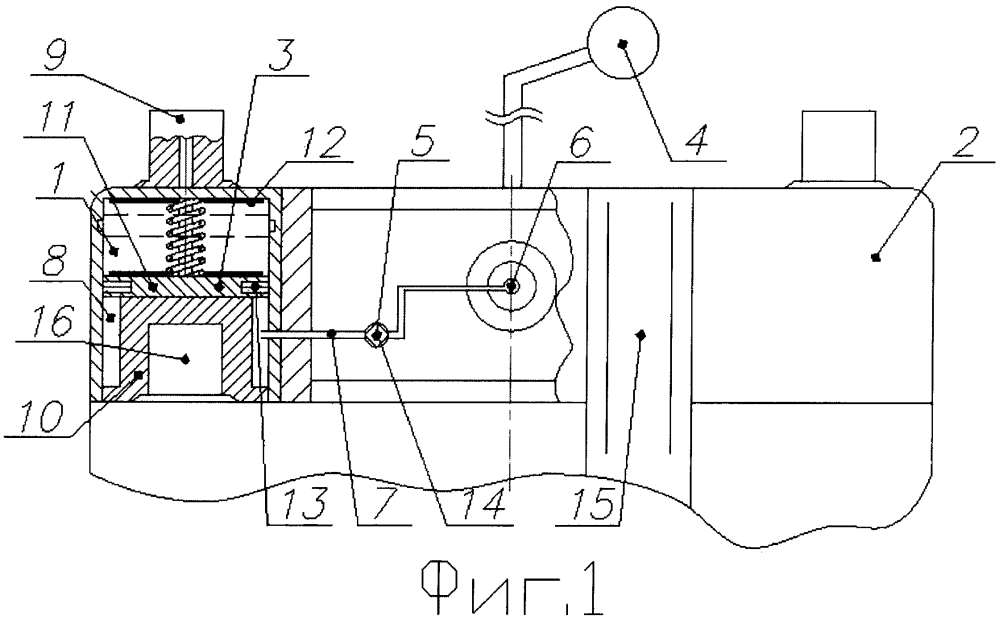 Аварийный автоматический выключатель аккумуляторной батареи