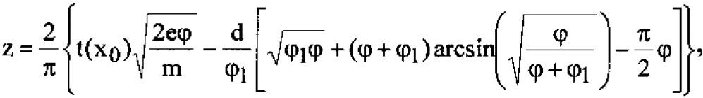 Времяпролетный масс-спектрометр с нелинейным источником ионов