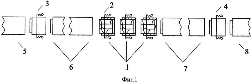 Модульная система электромагнитной транспортировки жидкостей, обладающих магнитными свойствами