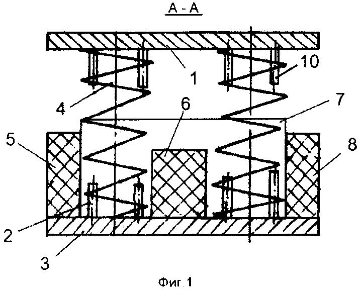 Виброизолированная площадка оператора