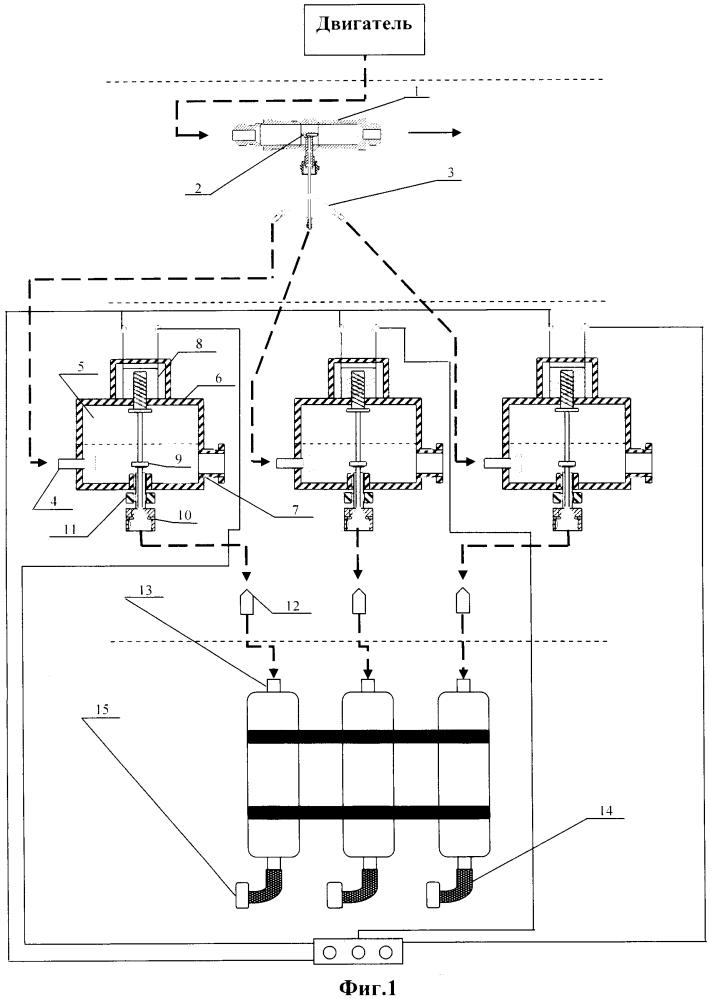 Устройство для отбора проб воздуха от авиационных газотурбинных двигателей при проведении испытаний на летающих лабораториях