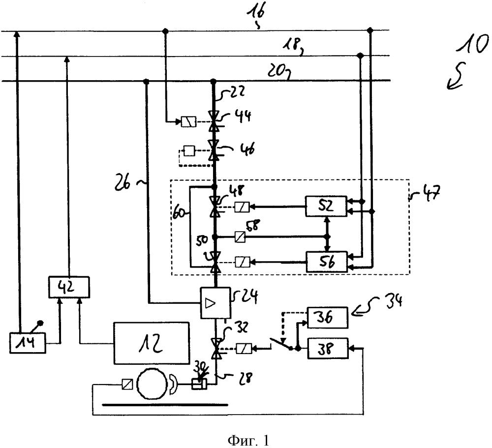 Устройство управления клапаном для тормозной системы рельсового транспортного средства