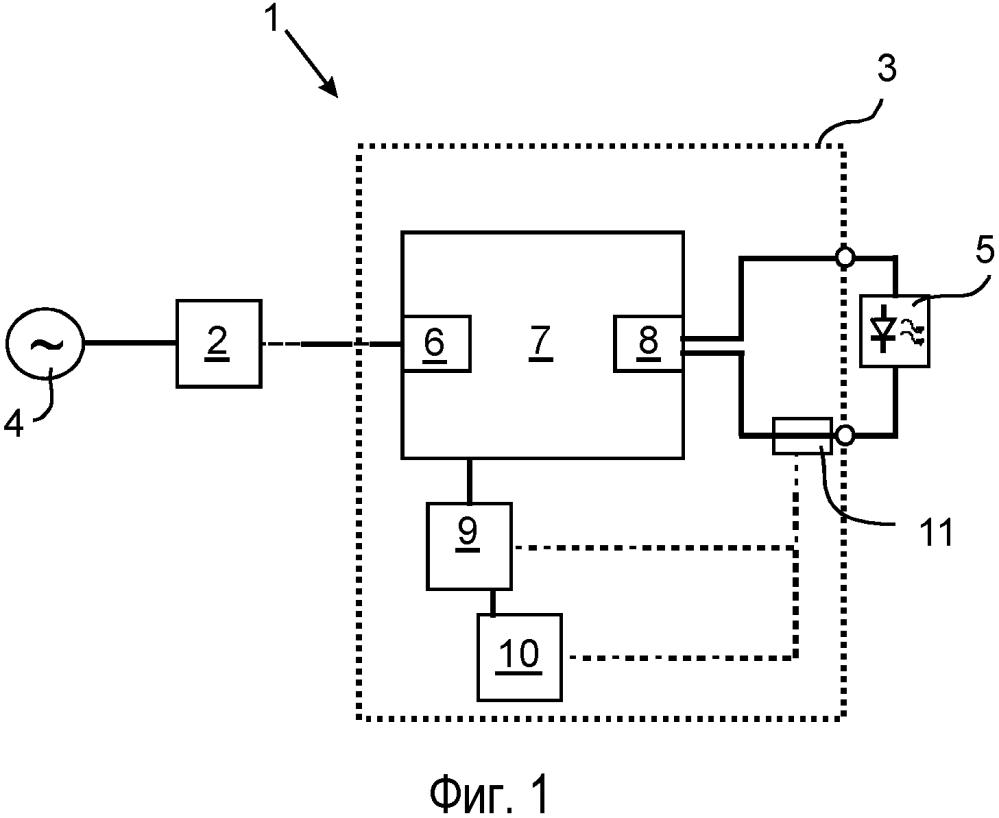 Модернизированная схема возбудителя сд (светоизлучающих диодов) и способ ее работы