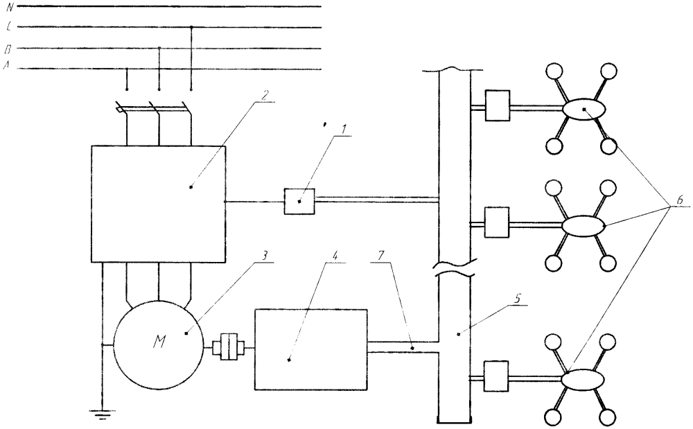Система управления водокольцевым вакуумным насосом