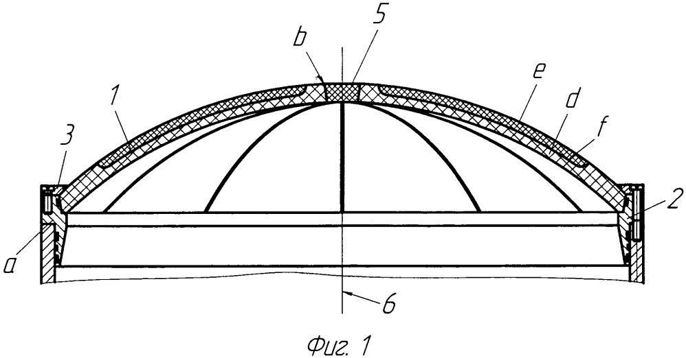 Способ изготовления разрушаемой крышки пусковой трубы, содержащей сферический сегмент
