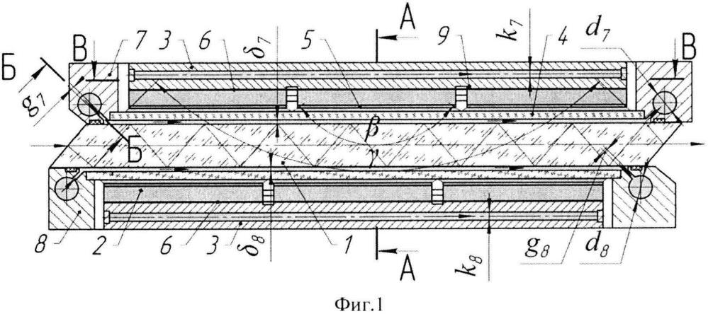 Модуль слэб-лазера с диодной накачкой и зигзагообразным ходом лучей (варианты)