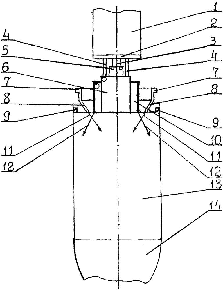 Ракетный двигатель малой тяги на газообразных водороде и кислороде со щелевой форсункой