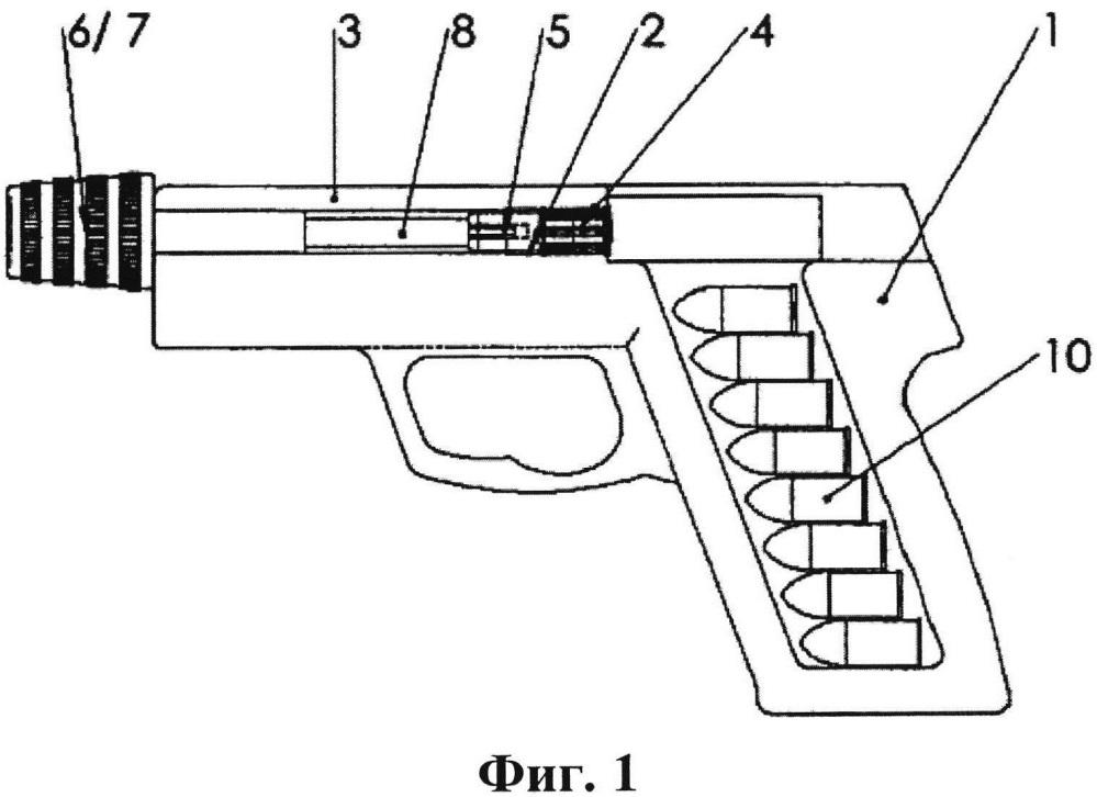 Предохранительная система для пистолета, предотвращающая несанкционированное использование