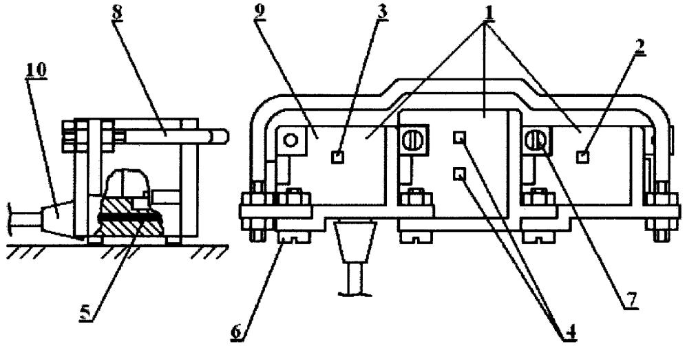 Модульное указательное устройство мышь