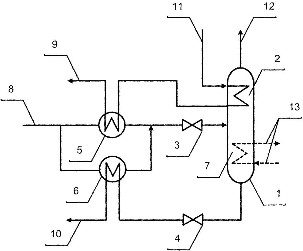 Устройство промежуточной сепарации газа (варианты)