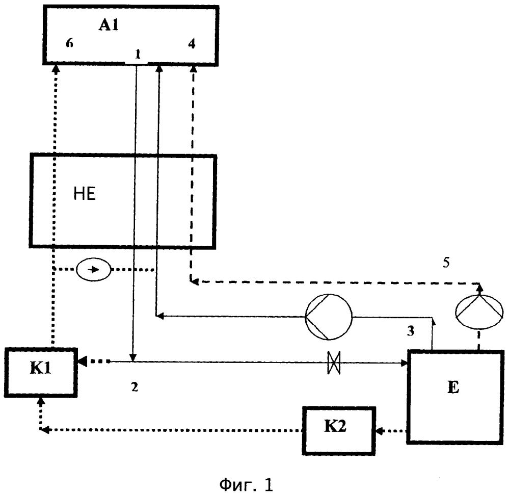 Высокоэффективный тепловой насос, сочетающий абсорбцию и изменение концентрации раствора