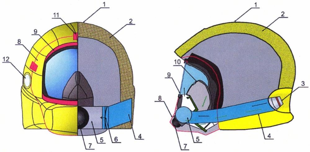 Шлем горноспасателя