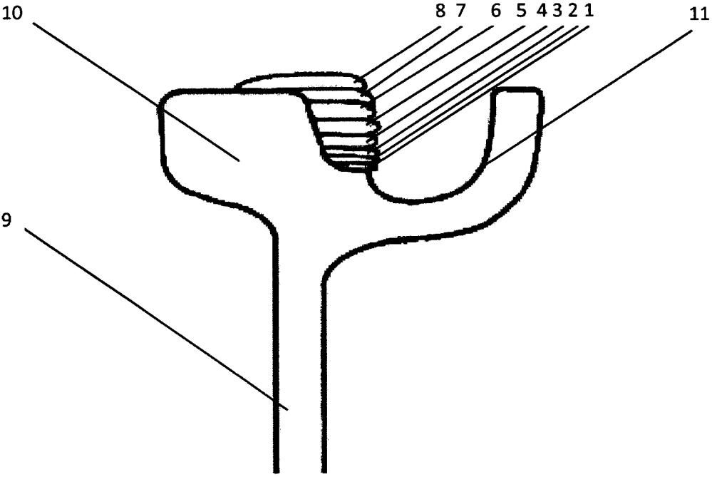 Способ восстановления изношенной поверхности трамвайного рельса