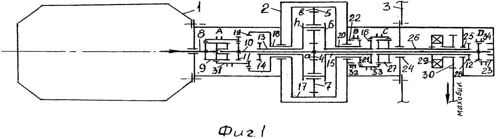 Пятиступенчатый электростартер