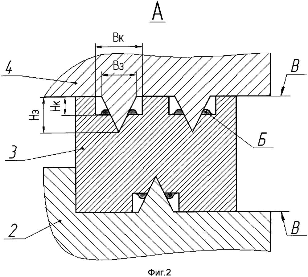 Уплотнение газового стыка между втулкой и крышкой цилиндра двигателя внутреннего сгорания
