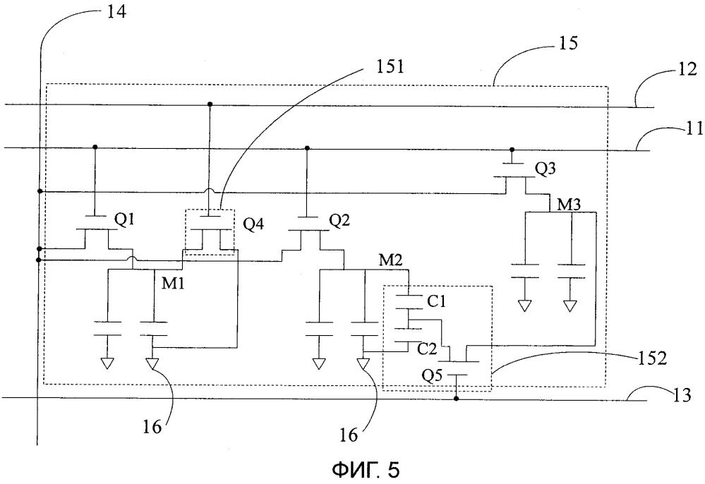 Подложка матрицы и панель жидкокристаллического дисплея
