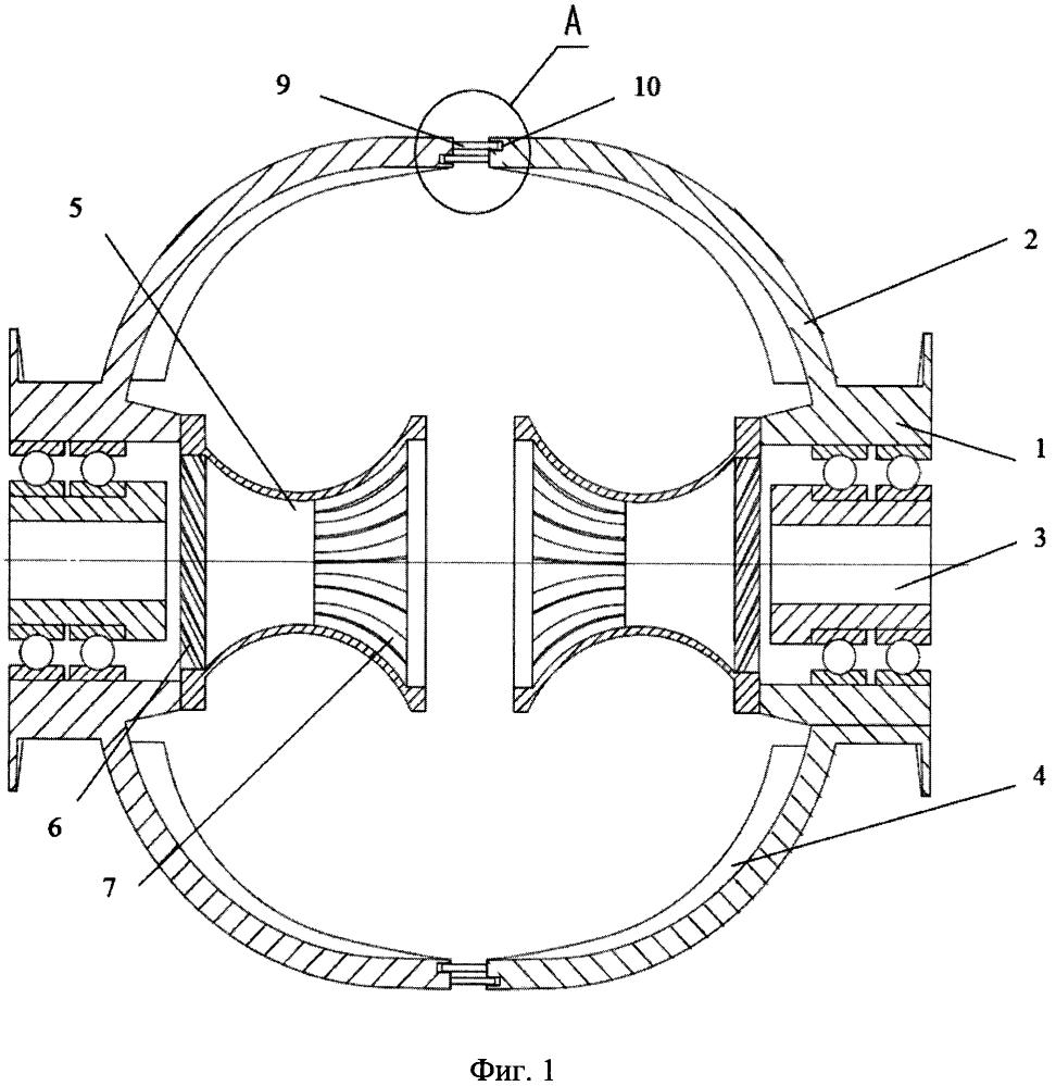 Разгонно-размалывающий диск мельницы