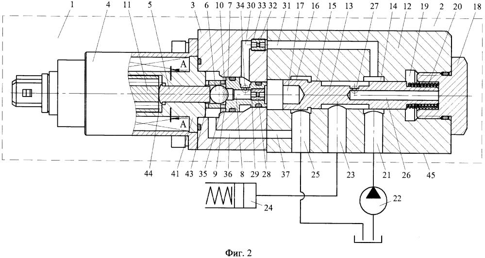 Пропорциональный клапан управления фрикционами гидромеханической передачи