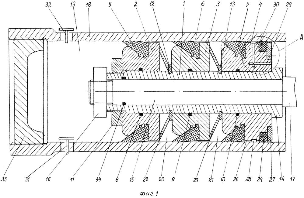 Цилиндропоршневое уплотнительное устройство