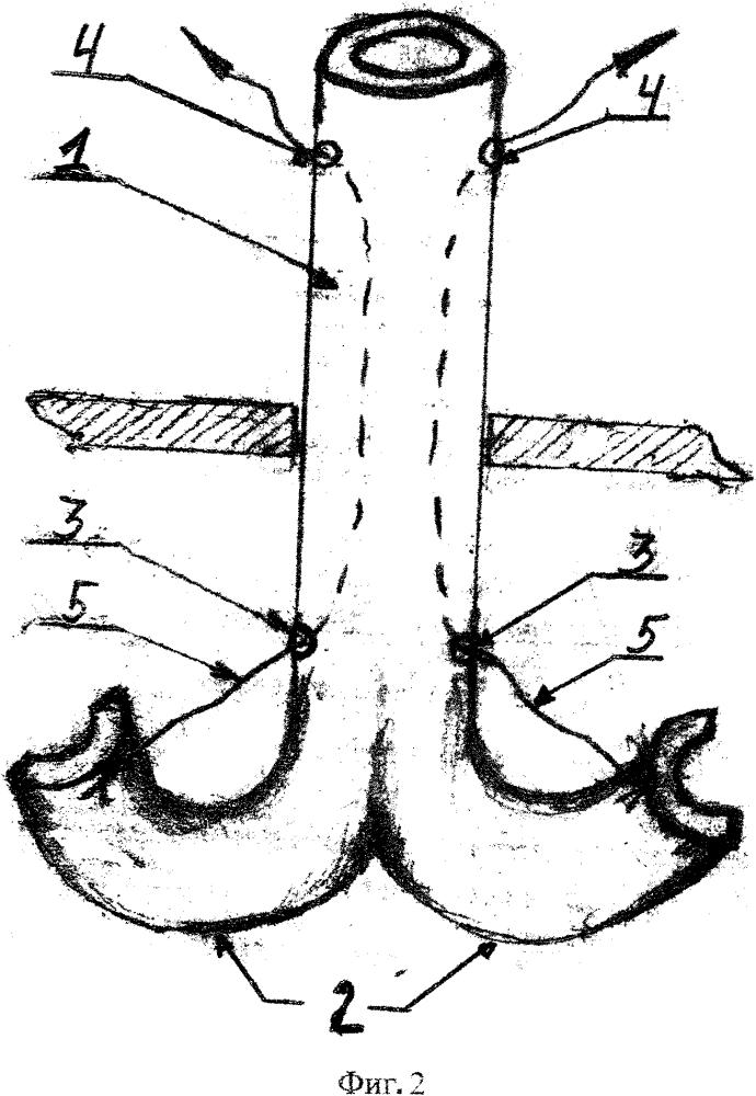 Катетер для дренирования полостей тела у животных
