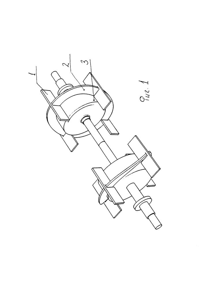 Роторный двигатель стирлинга