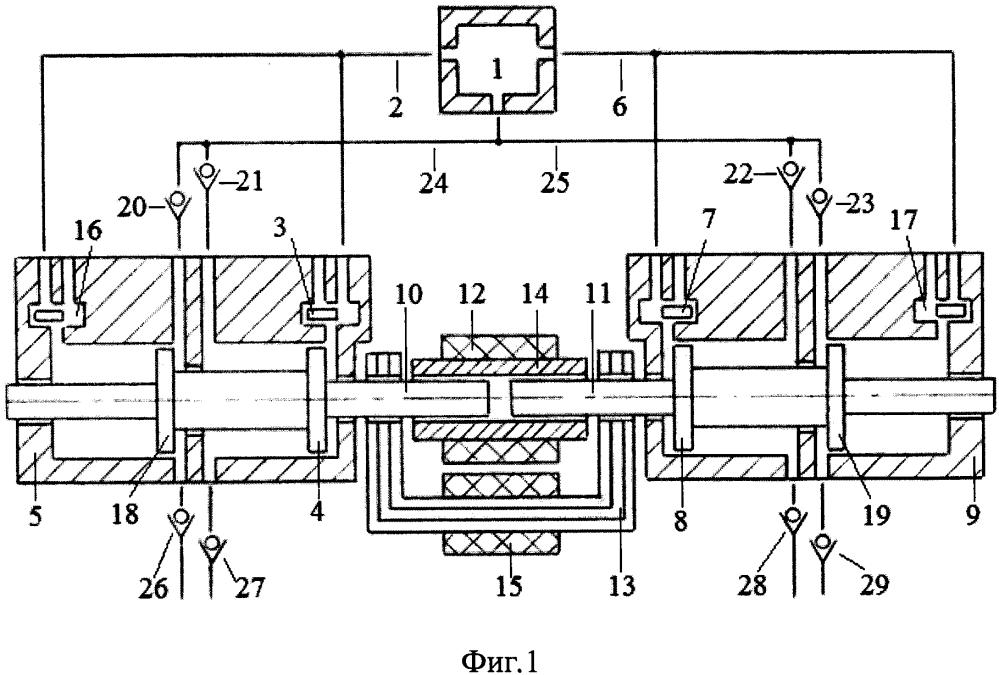 Способ управления температурой поршневых групп и цилиндров свободнопоршневого с внешней камерой сгорания энергомодуля с приводом насоса системы охлаждения сжатым воздухом