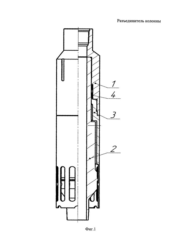 Разъединитель колонны