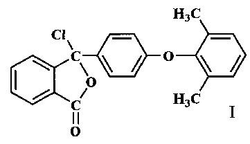 Псевдохлорангидрид 2-[4-(2,6-диметилфенокси)бензоил]бензойной кислоты и способ его получения