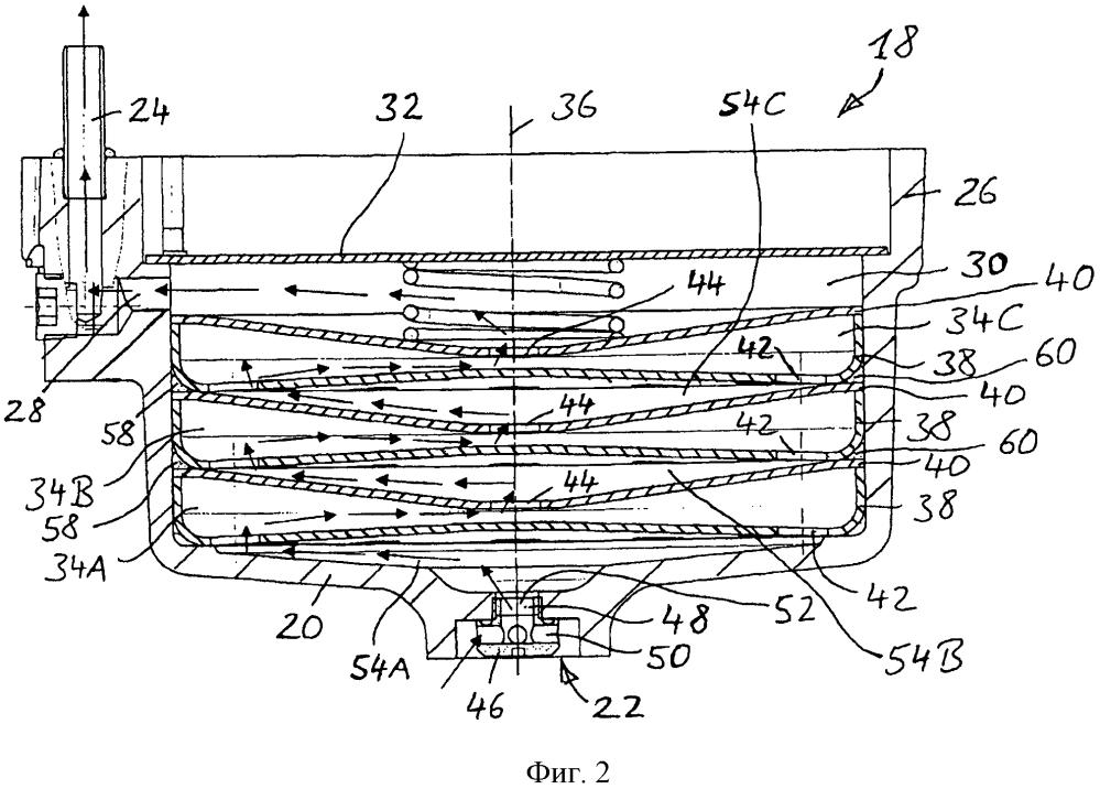 Конденсационное устройство для пневматического тормозного цилиндра