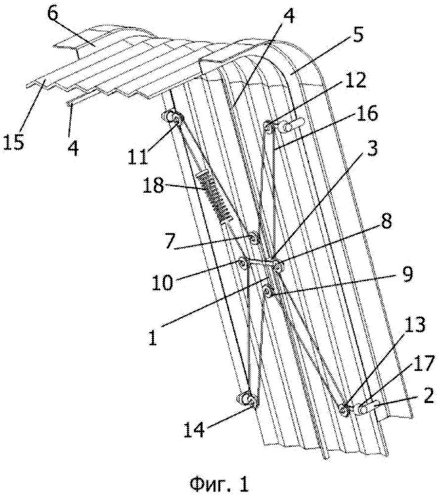 Способ подвешивания сильфонов в сцепленном транспортном средстве