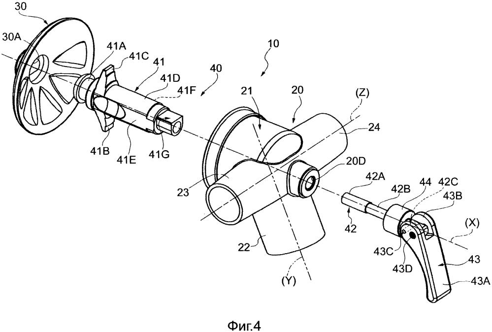 Аэрационное устройство для цистерн, содержащих порошковые материалы или тому подобное