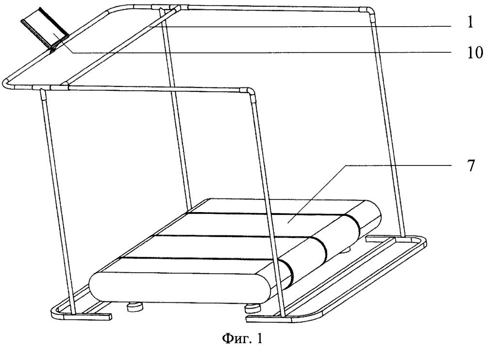 Устройство для коррекции двигательной активности нижних конечностей при центральных гемипарезах