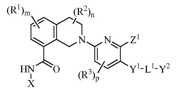 Производные 8-карбамоил-2-(2,3-дизамещенного пирид-6-ил)-1,2,3,4-тетрагидроизохинолина в качестве индуцирующих апоптоз средств для лечения рака