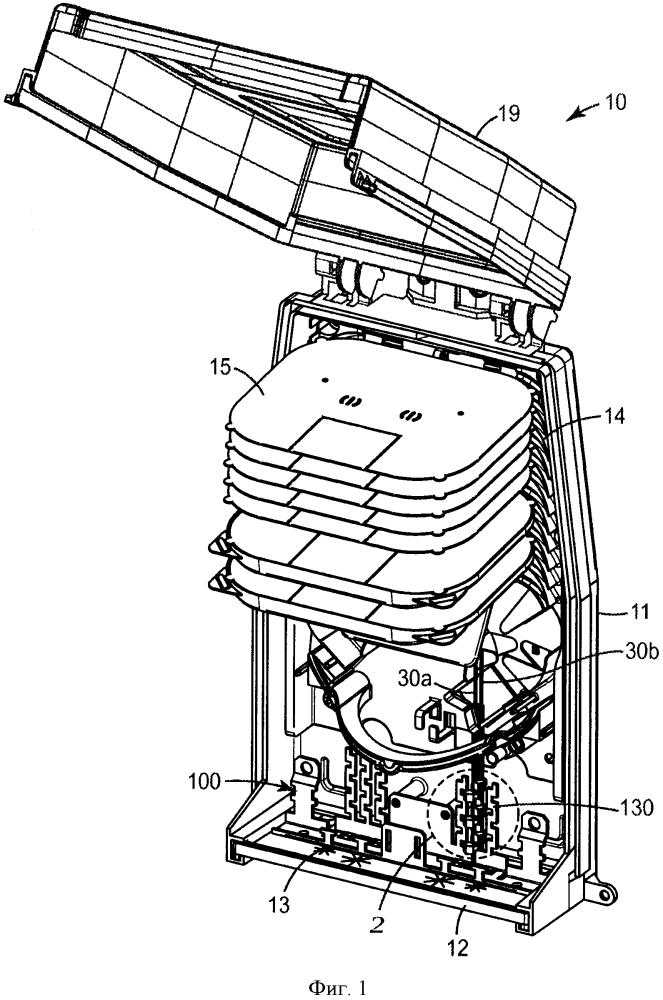 Компенсатор натяжения для отводных кабелей с низким коэффициентом трения