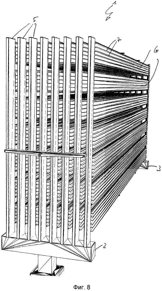 Охлаждающий радиатор с жидкостным охлаждением