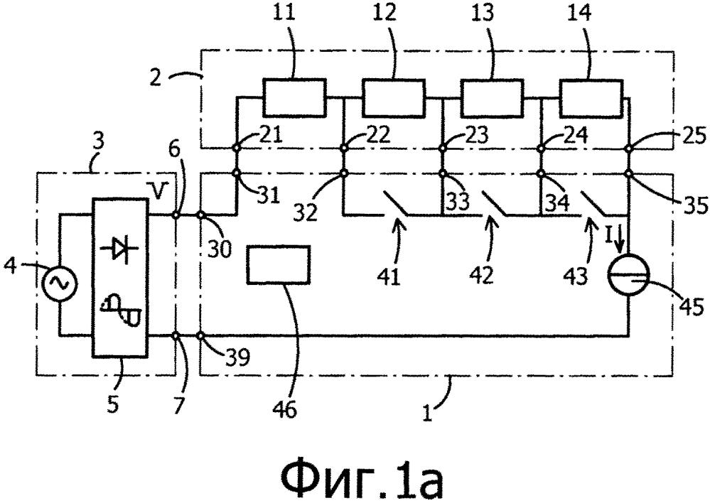 Способ и устройство для возбуждения цепочки светодиодов