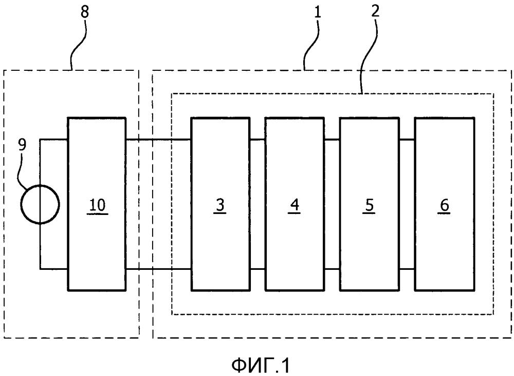 Адаптационная схема для подсоединения светодиода к балласту