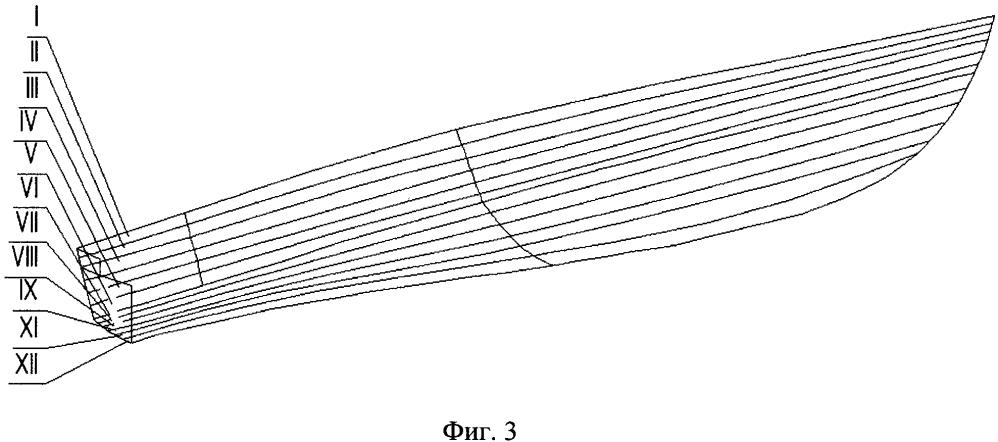 Способ формирования корпуса судна из листового композиционного материала