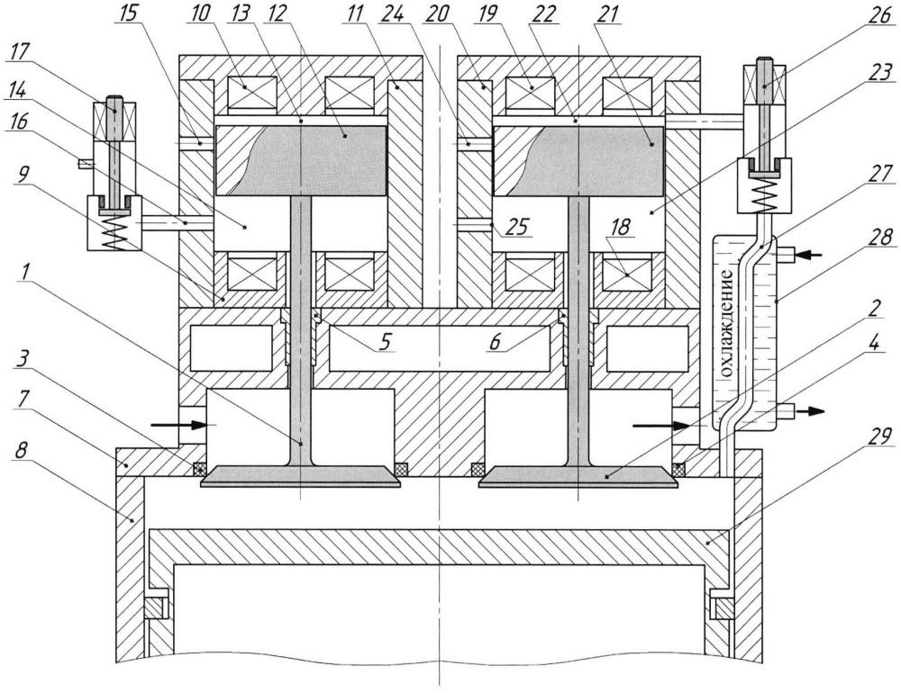 Механизм газораспределения поршневого двигателя внутреннего сгорания