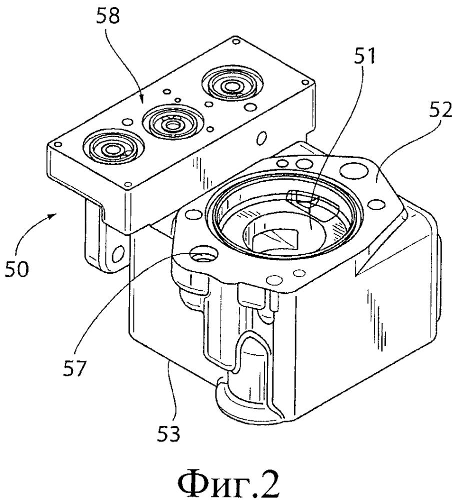 Рабочий ступенчатый клапан типа abdx-c, рабочий золотник типа abdx-c и конструкция золотника с функцией клапана ускоренного действия (aav)