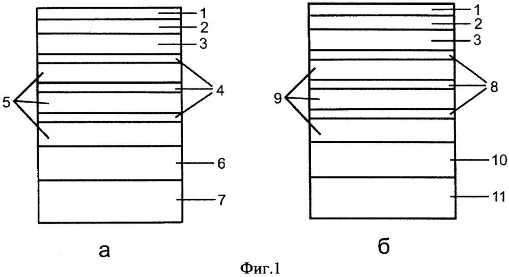 Спин-детектор свободных электронов на основе полупроводниковых гетероструктур