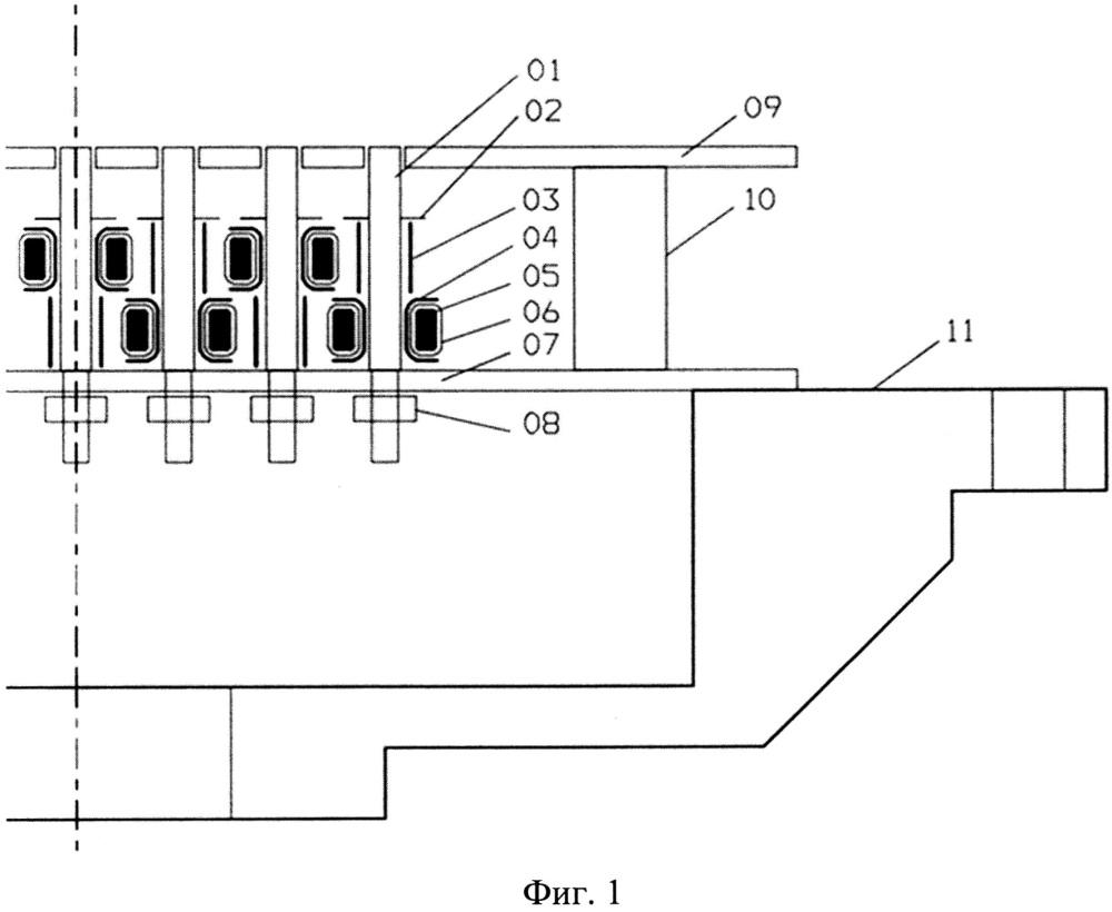 Позиционно-чувствительный датчик для измерения амплитудно-временных параметров и профиля импульсного электронного пучка
