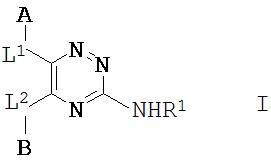 Производные 1,2,4-триазин-4-амина