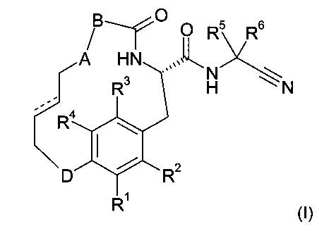 Макроциклические амиды в качестве ингибиторов протеазы