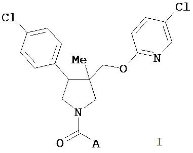 Производные (3-метилпирролидин-3-ил)-метил пиридинилового эфира и их применение в качестве антагонистов рецептора nk-3