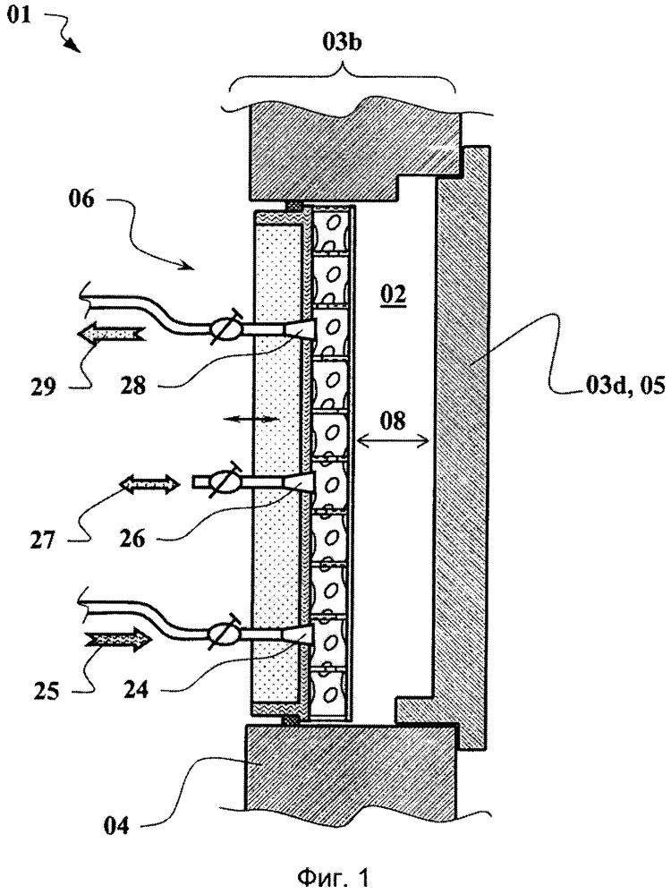 Устройство для изготовления формованных деталей из гранулированных пластмасс